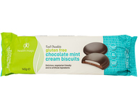 Chocolate Mint Cream Biscuits
