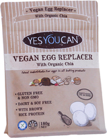 Vegan Egg Replacer with Organic Chia