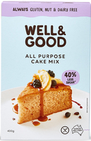 All Purpose Cake Mix (Reduced Sugar)