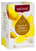 Lemon & Ginger Fruit Tea 20's