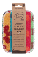 Cotton Flat Pot Scrubber (2pk)