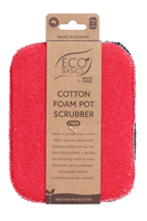 Cotton Foam Pot Scrubber (2pk)